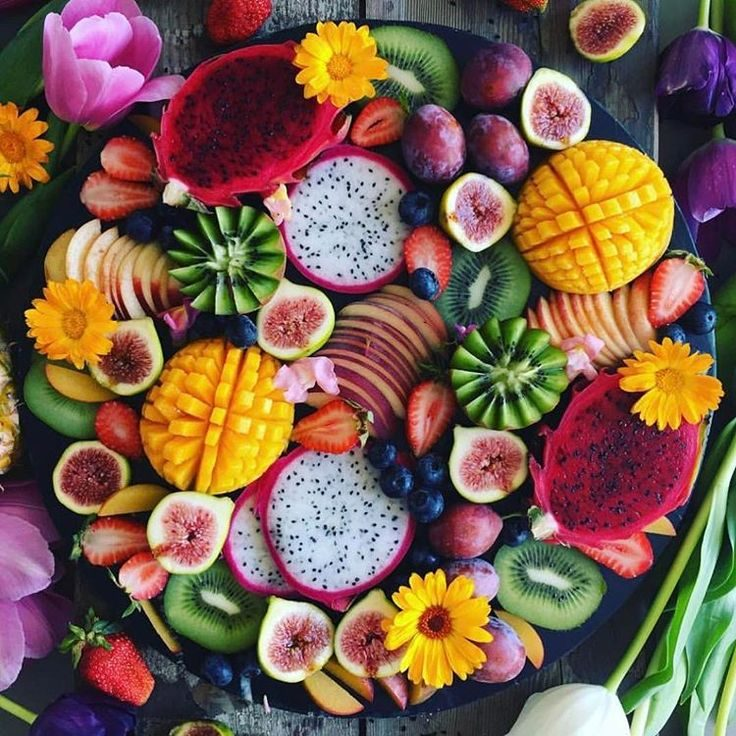 Fruit Design Decorative Plate